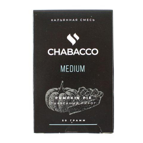 Кальянная смесь Chabacco Medium 50 гр Pumkin Pie