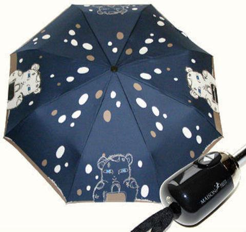 Зонт складной Maison Perletti 16219-blu Bear design