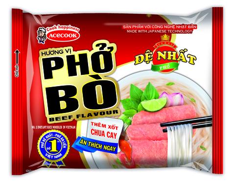 Вьетнамская рисовая лапша Фо Бо, De Nhat, 65 гр.