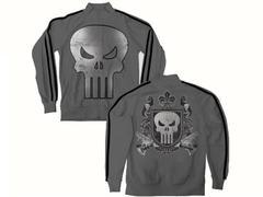 T-Shirt - Punisher Crest Punishment Track Jacket