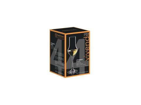 Набор из 4-х бокалов для крепких напитков Stemmed Spirit 109 мл, артикул 89736. Серия Vivendi Premium