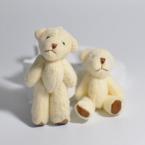 Игрушка для куклы 6 см - мишка молочный