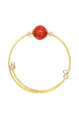 Комплект Amato L'Amore Red (ожерелье, браслет)