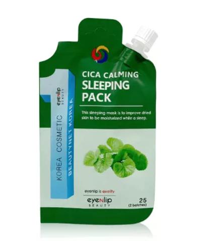 Ночная маска для лица с центеллой азиатской  Eyenlip Cica Calming Sleeping Pack