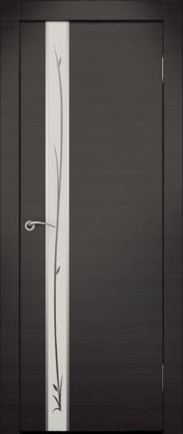 Дверь Маэстро (зеркало с рисунком) (венге, зеркало экошпон), фабрика Zadoor