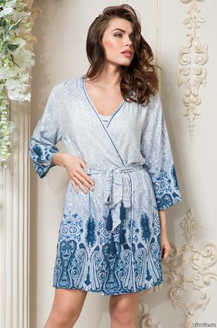 Короткий классический халат Mia Sofia 6463 MARIKA