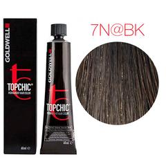 Goldwell Topchic 7N@BK (средний блонд с бежево-медным сиянием) - Cтойкая крем краска