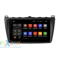 Штатная магнитола на Android 6.0 для Mazda 6 09+ Roximo 4G RX-2415