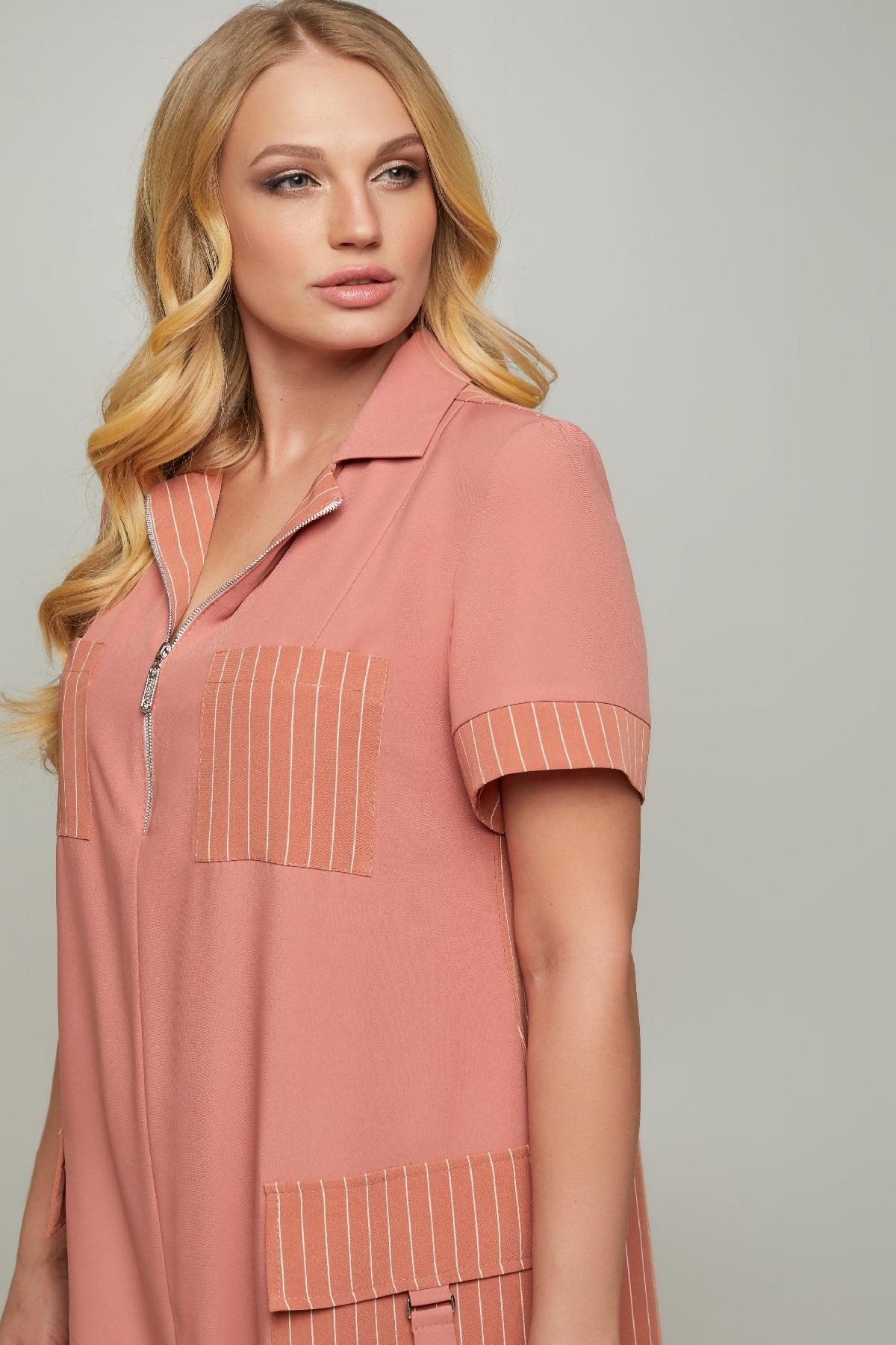 Платье Аланья (персик)