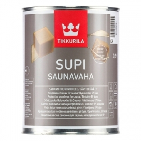 Tikkurila Supi Saunavaha / Тиккурила Супи СаунаВаха воск для сауны