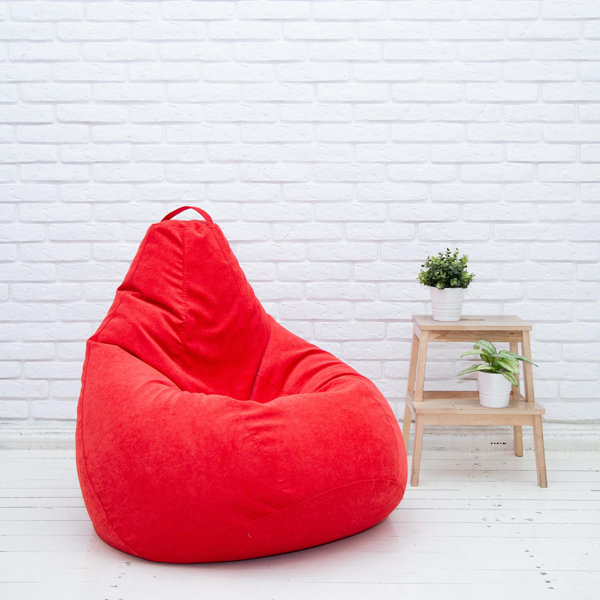 Кресло-мешок Груша красная