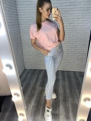 розовая футболка купить