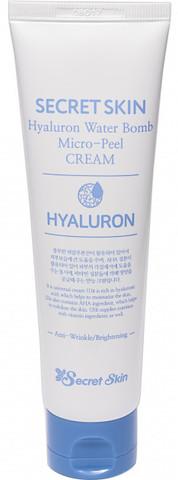 Крем для лица гиалуроновый Secret Skin Hyaluron Water Bomb Micro Peel Cream