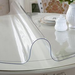 Прозрачная скатерть пленка на стол (140х60см)