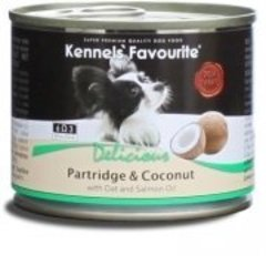 Консервы для собак Kennels` Favourite Partridge & Coconut куропатка с кокосом