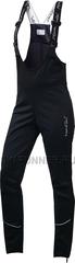 Женские лыжные брюки NordSki Active Black с высокой спинкой