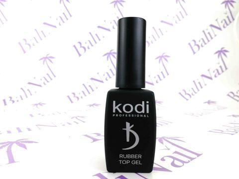 KODI, Верхнее покрытие с липким слоем с кисточкой Rubber Top, 12 мл