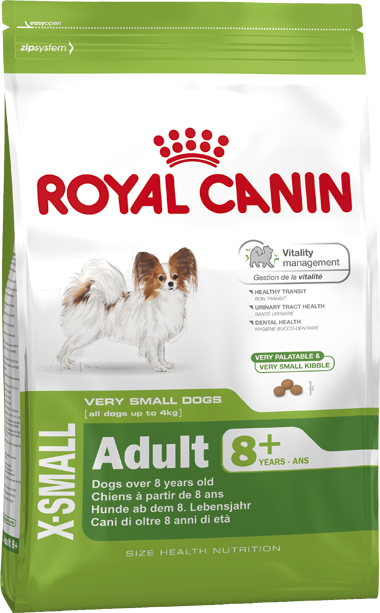 Royal Canin X-Small Adult 8+ 500 гр