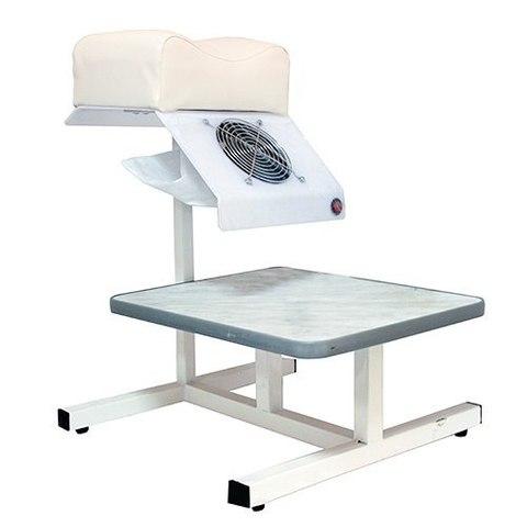 Педикюрная подставка с вытяжкой 31 Вт и ванночкой HB (Цвет:Белый)