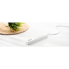 Удлинитель Xiaomi Mi Power Strip 3 (XMCXB01QM), белый, 1.8 м