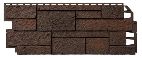 Фасадные панели Vox Solid Sand Stone Dark Brown 1000х420 мм