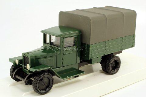 Ural-ZIS-5V with awning (50 years of UralAZ) green LOMO-AVM 1:43