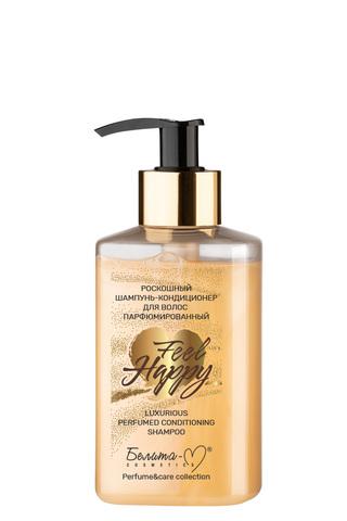 Белита-М Feel Happy Роскошный шампунь-кондиционер для волос Парфюмированный 300г