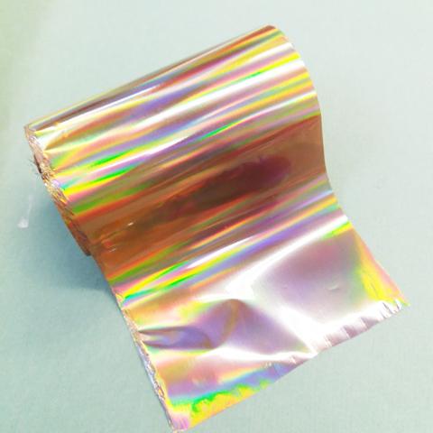 Фольга для золочения, Галлография полоски Золото