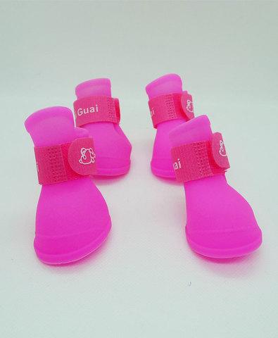 Обувь, размер: S, цвет: розовый, материал: силикон