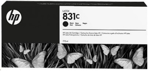 Картридж HP № 831, Black, 775 мл, CZ694A