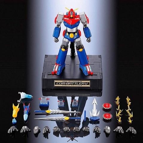 Фигурка Soul of Chogokin GX-90 Super electromagnetic COM-BATTLER V F.A.