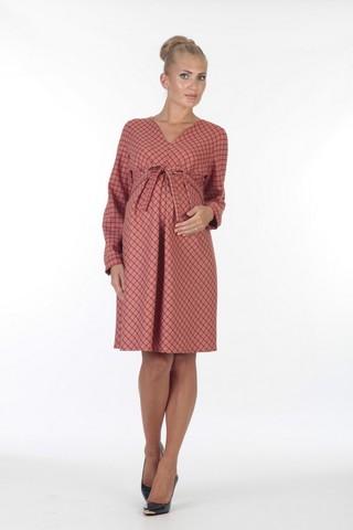 Платье для беременных 05700 красный