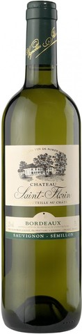 Вино Chateau Saint-Florin Blanc, Bordeaux AOC, 2012, 0.75 л