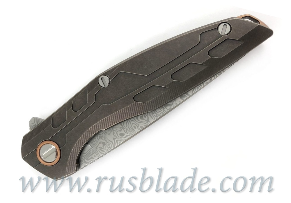 Shirogorov Custom Division 111 Bronze Damasteel