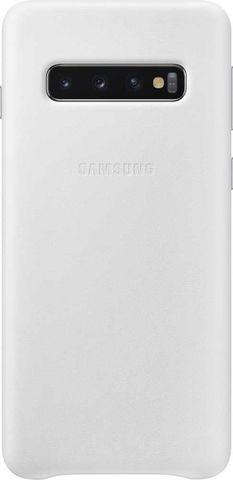 Чехол SAMSUNG Leather Cover для Samsung Galaxy S10 Белый
