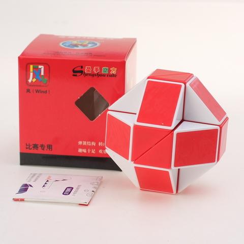 Shengshou Wind Змейка Рубика Красная