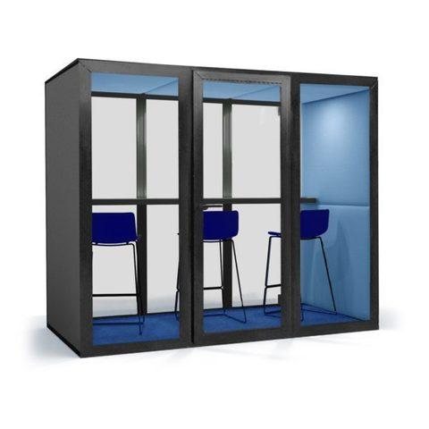Офисная переговорная кабина  25Дб OPTIMA, размеры  100х200х210