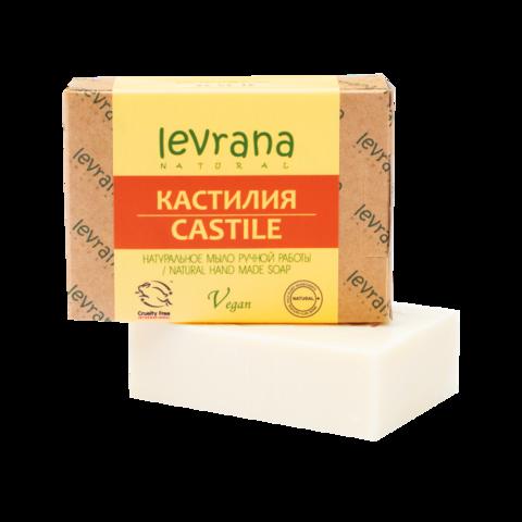 Levrana Натуральное мыло ручной работы Кастилия, 100гр