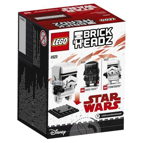 LEGO BrickHeadz: Штурмовик 41620 — Stormtrooper — Лего БрикХедз