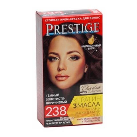 Краска для волос Prestige 238 - Темный золотисто-коричневый