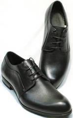 Классика туфли мужские кожа Ikoc 060-1 ClassicBlack.