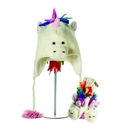Картинка шапка с ушами Knitwits Ummi the Unicorn