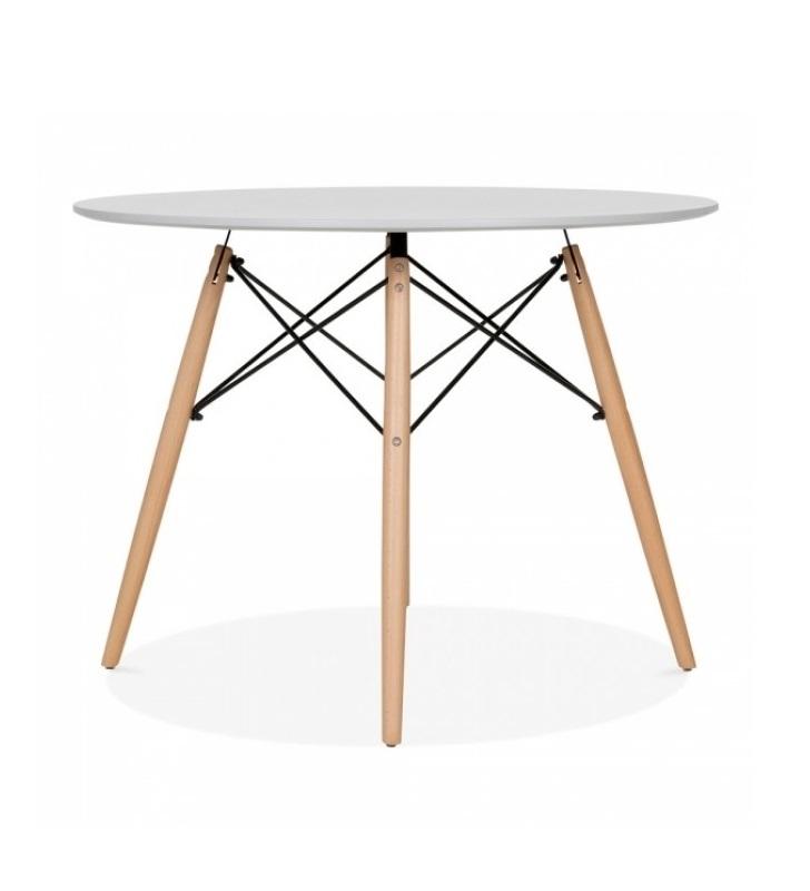 Стол обеденный DARS (100) LIGHT GREY (серый)