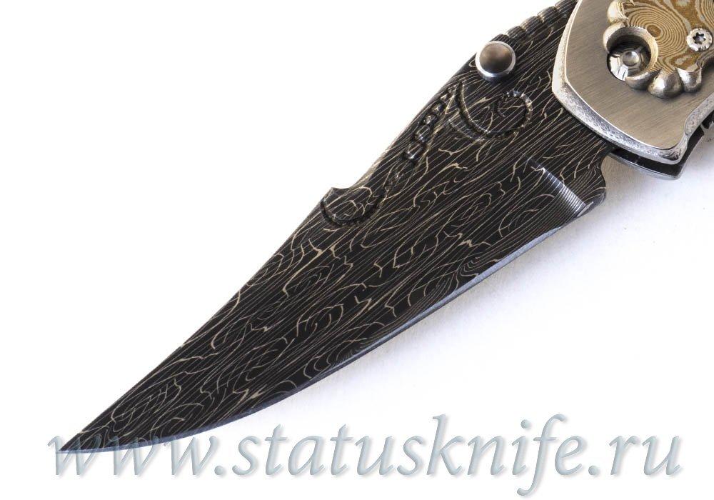 Нож Fairall Bradford Black Pearl Persian Auto Custom Proto - фотография