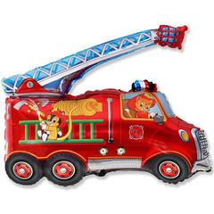 F Мини фигура Пожарная машина / Fire Truck (14