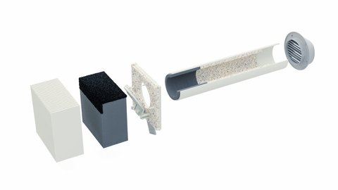 Стеновой клапан Norvind Pro