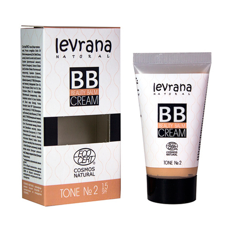 Levrana, BB крем тон №2, 30мл