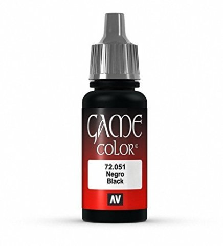 Game Color Black 17 ml. (Game Color)
