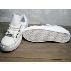 Осенняя спортивная обувь женская Molly shoes 557 Whate