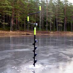 Ледобур MORA ICE Nova, цвет чёрный, 110 мм, арт. ICE-MM0081